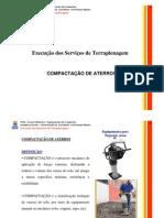 UFBA - Aula 13 - Execução serviços de terraplenagem - Compactação
