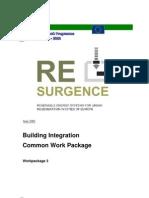 Building Integration Report Aug 2002