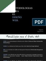 Metodologías para el Diseño Web