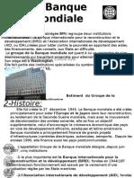 La Banque Mondiale International
