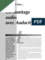Montage Audio Avec Audacity