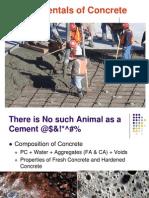 Fundamentals of Concrete 2010
