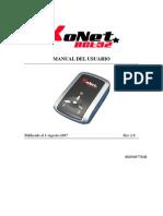 GPS Data Logger Manual Spanish
