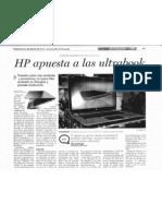 HP Apuesta a Las Ultrabook