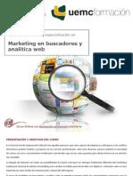 Curso universitario de especialización en Marketing en buscadores y analítica Web