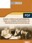 Curriculo Experimental Inicial