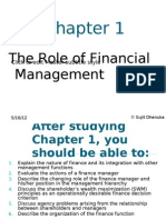 Ch01 - The Nature of Financial Management