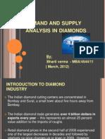 Demand and Supply Analysis in Diamonds