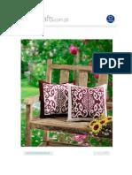 almofadas geometricas
