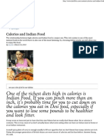 Indian Food Calories Value-axis engineering automation