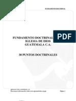 Fundamento Doctrinal de La Iglesia de Dios