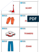 Clothes Flashcard 5