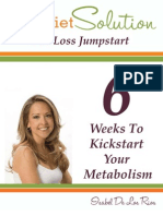 6 Weeks to Kick Start Your Metabolism Isabel de Los Rios