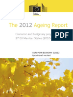 Rapport Europese Commissie over vergrijzend Europa 2012