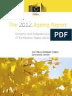 Rapport Europese Commissie over vergrijzend Europa 2012