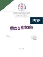 Yenice Metodo de Monte Car Los