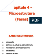 Aula 5 Microestrutura e Diagrama de Fases