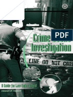 FBI - Crime Scene Investigation