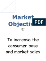 Market Objective