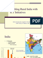 Rural India and ICT Initiatives