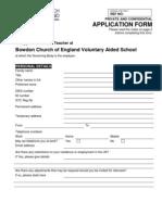 Teaching Application for Bowdon