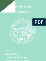 Notary Handbook 2012