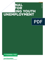National Plan for Tackling Youth Unemployment - May 2012