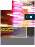 10 Ways to Deal With Mobile Data Capacity Crunch Whitepaper