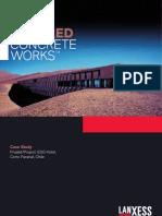 Lanxess - Pigmento Para Concreto - Case Study - ESO Hotel