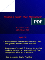 Logistics and Supply Chain Management  - An over view.ppt