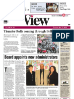 Belleville View front page May 17