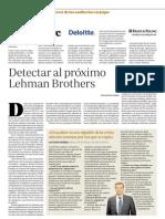 Detectar al próximo Lehman Brothers