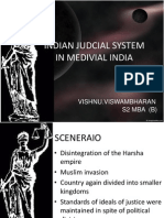 Indian Judicial System in Medival Period