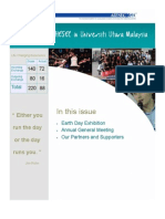 AIESEC UUM Newsletter 2012 Volume 3 Issue 8