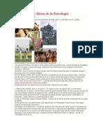 Definiciones y Metas de la Psicología Transcultural