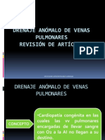 Drenaje anómalo de venas pulmonares-Exposición