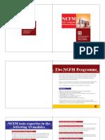 NCFM Brochure
