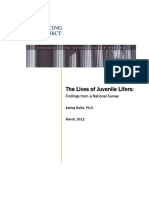 Jj the Lives of Juvenile Lifers