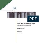 Jj the Lives of Juvenile Lifers