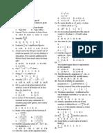 Utme 2012 Mathematics