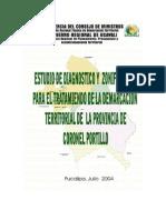 EDZ Provincia de Coronel Portillo (TEXTO)