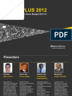 Budget PLUS 2012-Key Features of Indias Union Budget 2012-13-16March