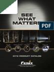 FENIX Flashlight Catalog 2012