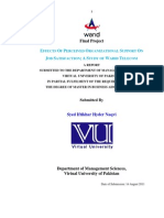 Report on Warid Telecom
