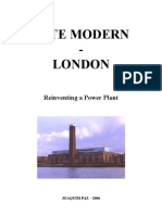 Tate Modern - Reinventing a power plant (Essay)