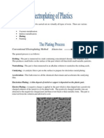 Electroplating of Plastics