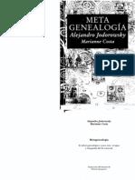 Alejandro Jodorowsky Y Marianne Costa-Metagenealogía
