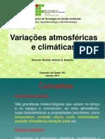 Variações atmosféricas