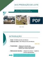 Estresse bovino - produção de leite