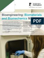 Bio Materials Bio Mechanics